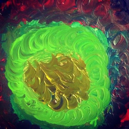 """A work in progress... """"The Giant Swirl"""" by Gavin."""