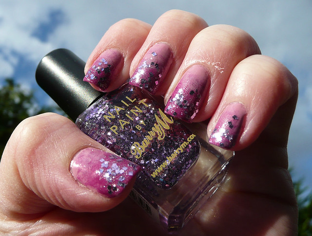 pink purple glitter gradient 1