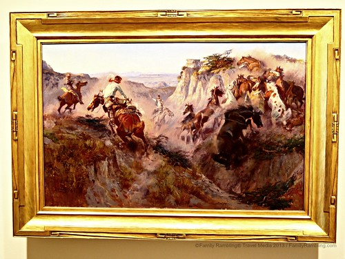 Western Art at Amon Carter Museum of American Art, Fort Worth Cultural District. Fort Worth Texas. FamilyRambling.com