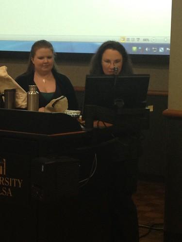 Lisa Sharp and Beth Terry