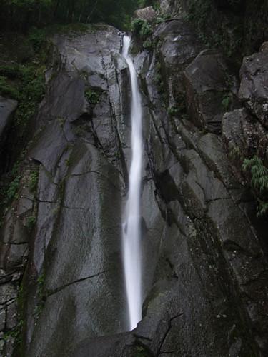 朝日滝二の滝 2011.8.6-2
