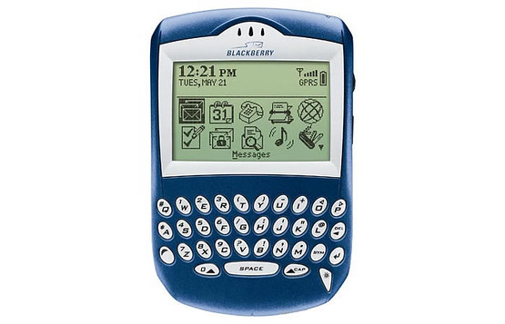 7. BlackBerry 6230