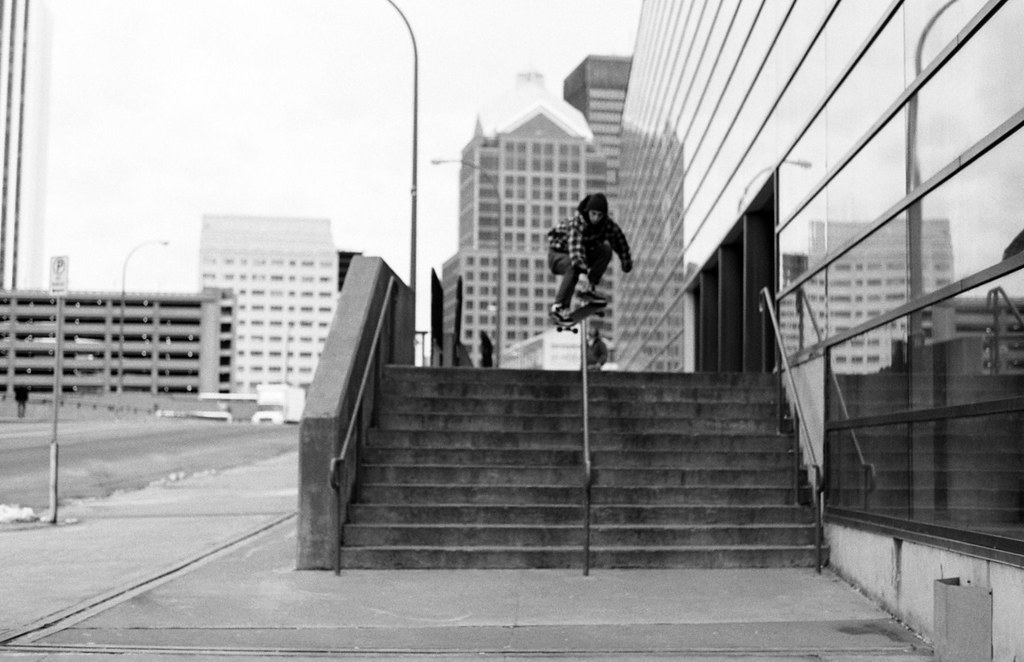 Anthony Ferrari - Ollie Over Rail - Rochester, NY