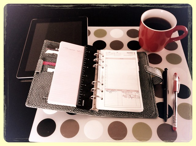 #fflovephotoaday - Day 7. Planning Time
