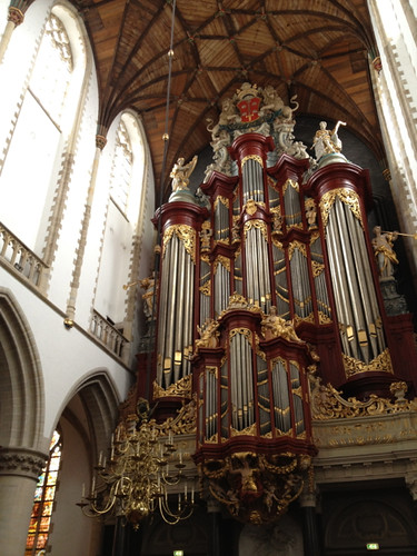 Haarlem - St Bavo organ