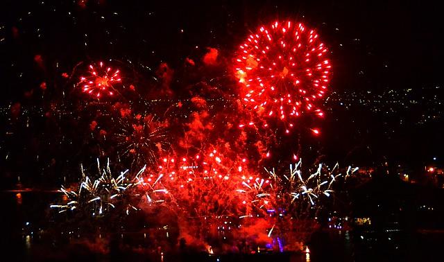 Fireworks, Sydney
