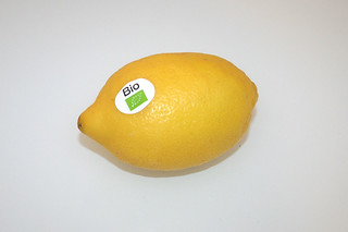 05 - Zutat Bio-Zitrone / Ingredient lemon