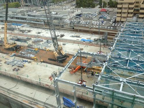 建設現場 JR富山駅