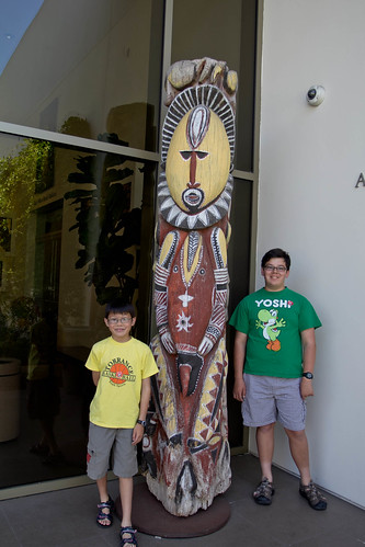 Boys and totem