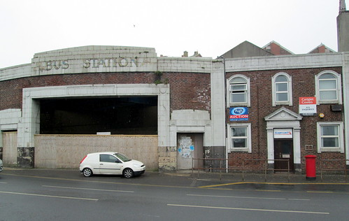 Whitehaven Bus Station Entrance