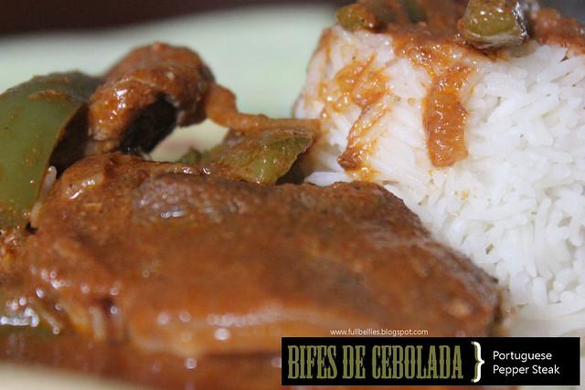 Bifes de Cebolada