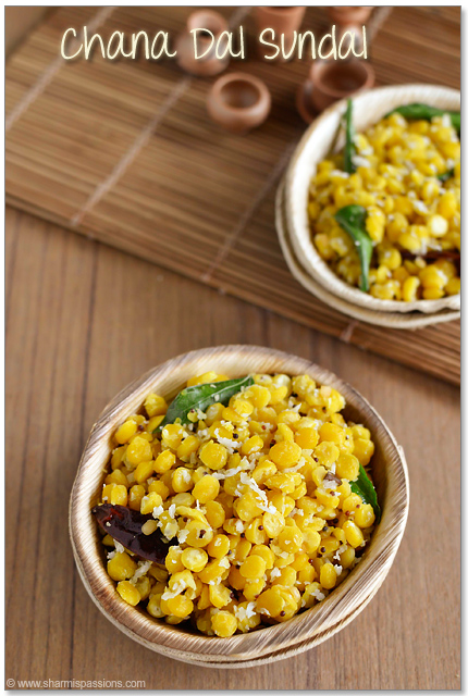 Chana Dal Sundal Recipe