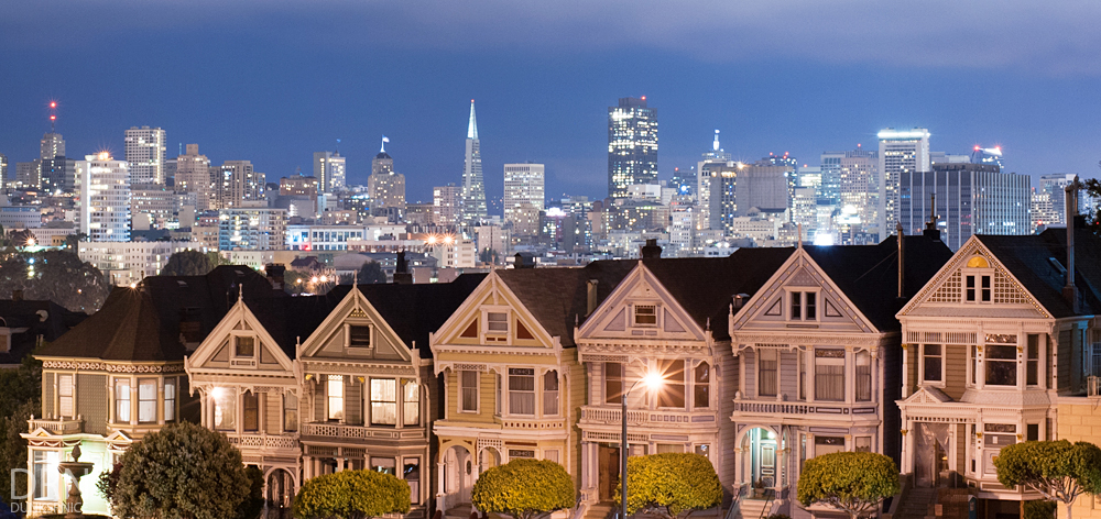 Painted Ladies, San Francisco.