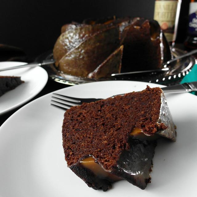 Double Chocolate Stout Cake