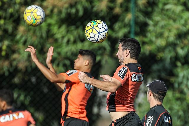 Atlético-MG encerrou preparação para estreia na Copa do Brasil