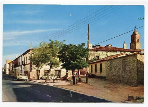 Alcolea del Pinar (Guadalajara) : calle Real= Real Street= Rue Real
