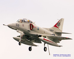 TA-4J With Tailhook Down
