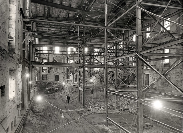 Renovation Work on the White House, ca. 1950
