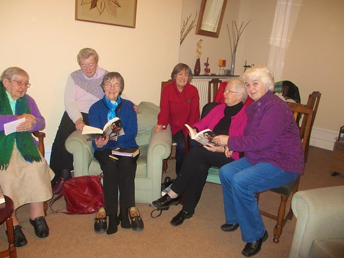 The monthly book club in the Rathmines Community