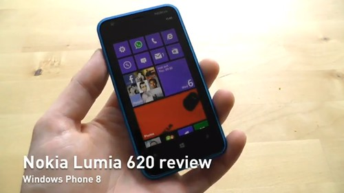 Nokia Lumia 620 WP8 video apžvalga