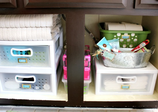 Organized Bathroom Organized Bathroom br