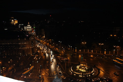 Madrid nocturna.