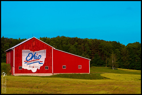 ohio red barn ashland bicentenial