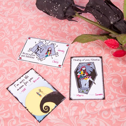 The Nightmare Before Christmas (Jack Skellington) Valentine's Cards