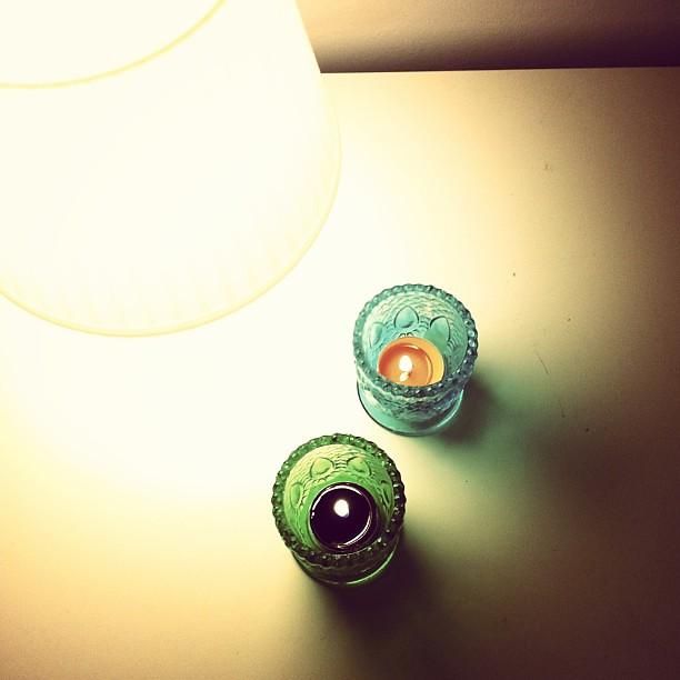 Luz. Velas.