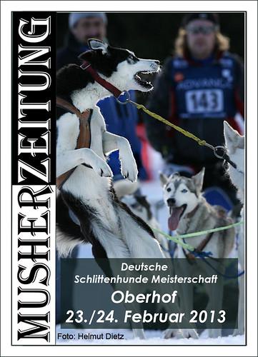 Michael Ruopp, Siberian Husky Musher, DM Schlittenhunderennen 2013, Oberhof, helmut-dietz-photo