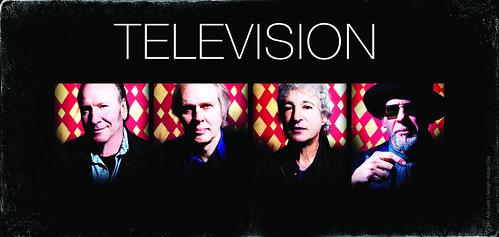Television (desde NY) en vivo en Argentina! 23 de abril, 20hs