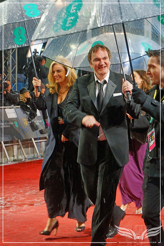 The Establishing Shot: EE BAFTAs RED CARPET QUENTIN TARANTINO ARRIVES by Craig Grobler