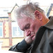 Small photo of He must have had a busy day out in Blackpool!
