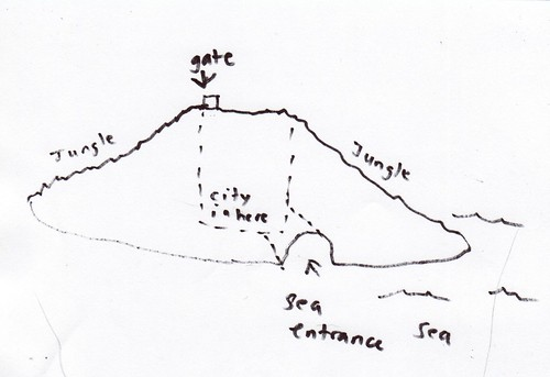 geography of Miq's island
