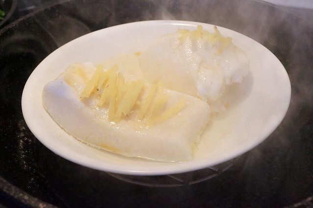 Chinese Steamed Chilean Sea Bass