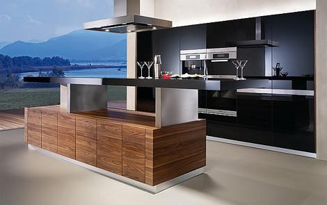 10 impresionantes ideas de dise o de isla central de for Planos de cocinas modernas con islas
