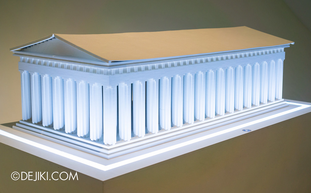 Art of The Brick - Parthenon