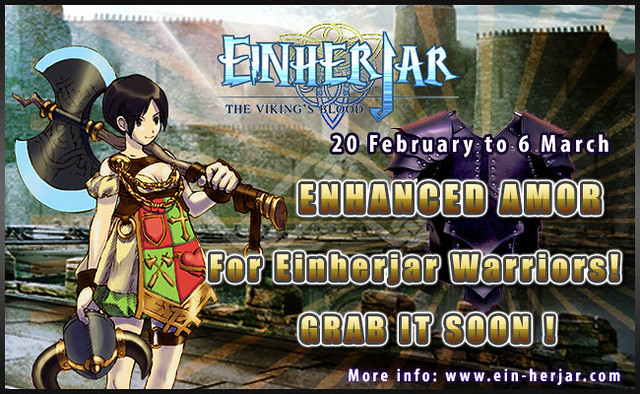 Enhanced armor for einherjar warriors