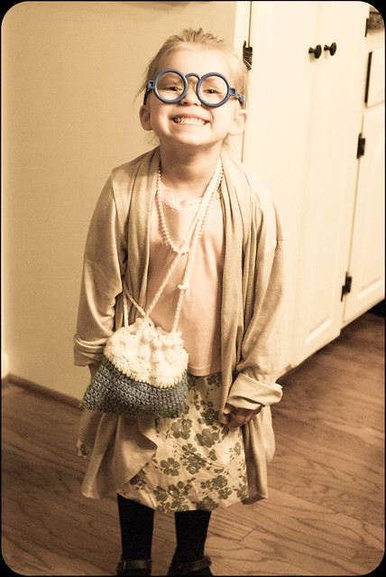 100th day of school...looking 100 years old!