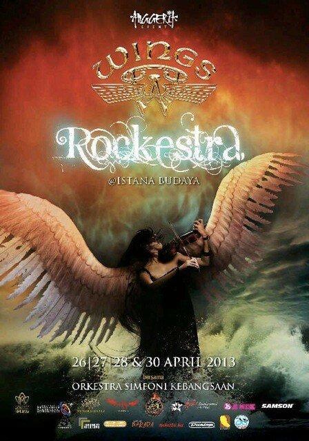 Konsert Wings Rockestra di Istana Budaya
