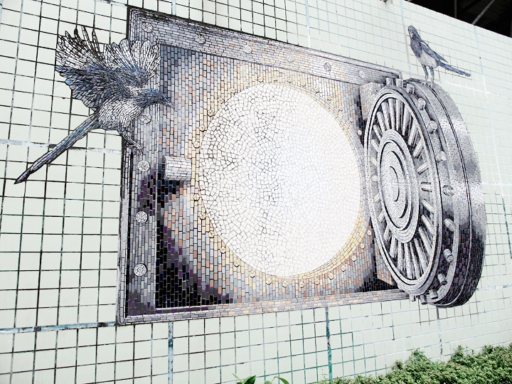 3d wall art taipei