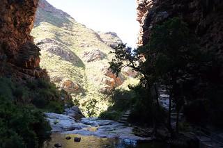Image of Waterfall. africa mountain waterfall south hills day8 naturepool e1855mmf3556oss