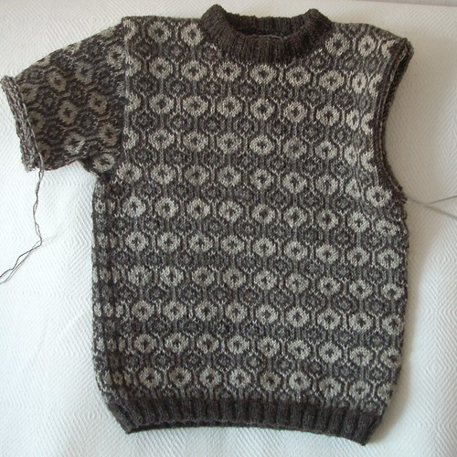 Faroese sweater progress by Asplund