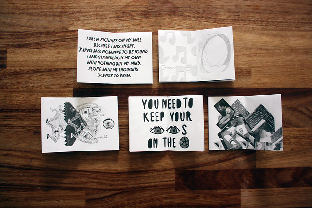Cut copy paste zines