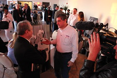 Lt. Gov. Jay Dardenne and Tom Pace at the Louisiana Soundtrack Experience, Shreveport