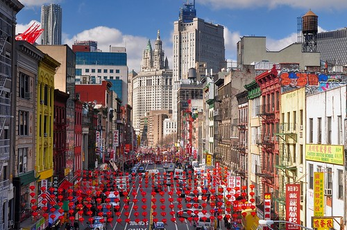 Festive Chinatown, NYC