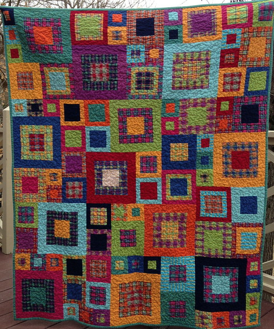 Quilt Patterns For Flannel : Plaid flannel quilt #2 Flickr - Photo Sharing!