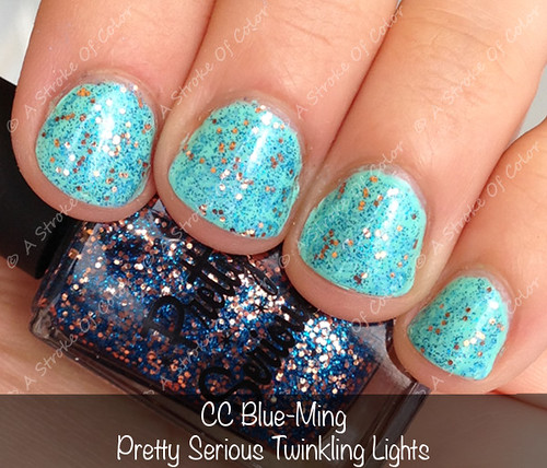 CC Blue-Ming + PS Twinkling Lights