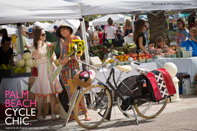 PB Cycle Chic Green Market Flat