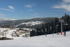 Zima na Aldrově ve Vítkovicích v Krkonoších zdaleka nekončí